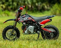 MOTOS YCF 50A LIMITE – ROUGE