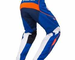 PANTALON CHALLENGER BLEU / ORANGE